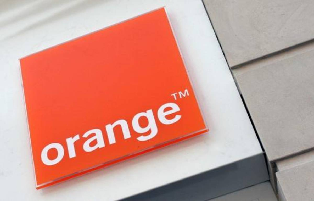 Le logo d'Orange (France Telecom).  – CHAUVEAU NICOLAS/SIPA
