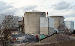 La centrale nucléaire de Fessenheim, dans le Haut-Rhin, le 14 mars 2011