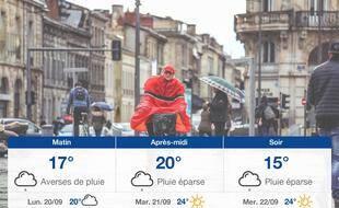 Météo Bordeaux: Prévisions du dimanche 19 septembre 2021