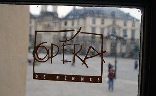 Illustration de l'opéra de Rennes.