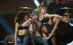 Orelsan lors de Victoires de la musique, le 8 février 2013, au Zenith de Paris.