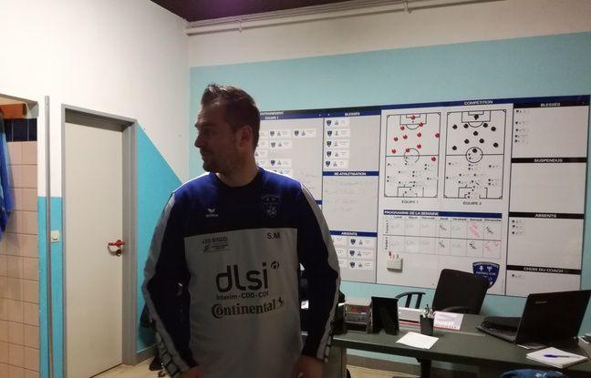 Sébastien Meyer, coach ultra-impliqué et passionné, également professeur de sport dans le civil.