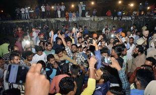 Un train a percuté des fidèles lors d'un festival hindou en Inde, le 19 octobre 2018, faisant au moins 50 morts.