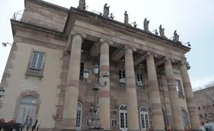 L'Opéra de Strasbourg, place Broglie. (Archives)