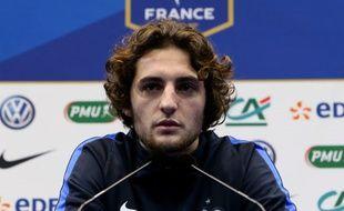 Adrien Rabiot a refusé de figurer parmi les 11 suppléants appelés par Didier Deschamps pour le Mondial 2018