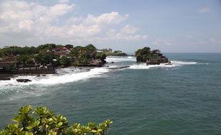 Vue de Bali, en Indonésie.