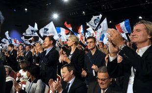 Des militants de Sens commun en novembre 2014 à Paris