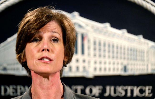 La ministre américaine par intérim de la Justice