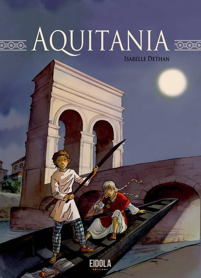 La Bande dessinée Aquitania est sortie le 12 novembre.