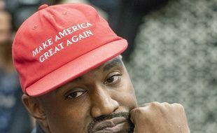 Le rappeur et candidat à l'élection présidentielle Kanye West