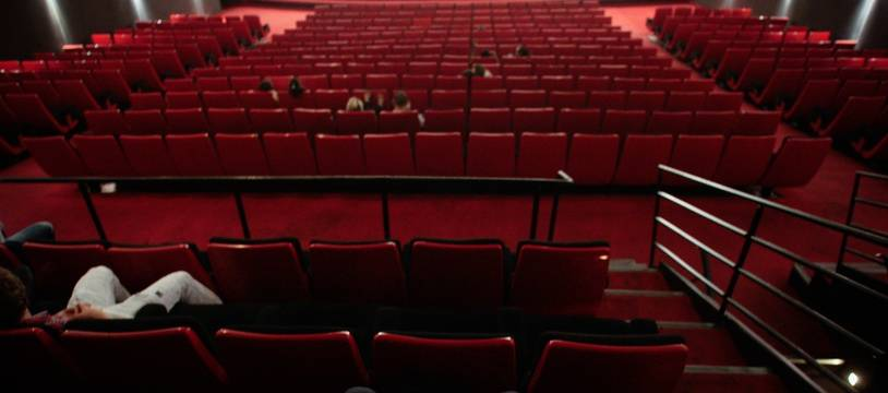 Une salle de cinéma (illustration)
