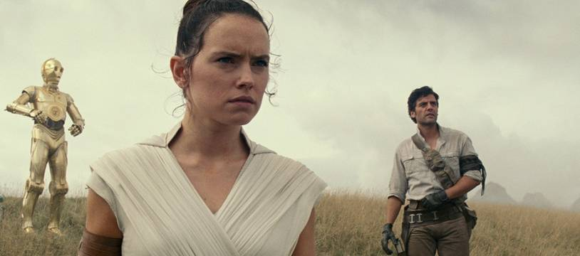 Daisy Ridley et Oscar Isaac dans «Star Wars: L'Ascension de Skywalker».