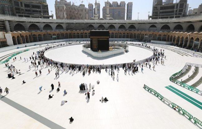 L'esplanade de la Kaaba ce 7 mars, à la Mecque. Les autorités saoudiennes ont autorisé la réouverture du lieu saint.