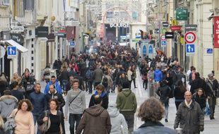 Marseille, le 13 janvier 2015, la demographie stagne a Marseille, selon l'INSEE.