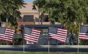 Illustration de drapeaux américains.