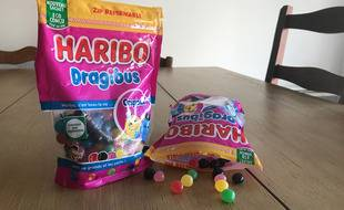 Le doypack recyclable d'Haribo