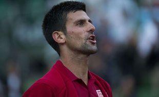 Novak Djokovic à Roland-Garros le 28 mai 2016.