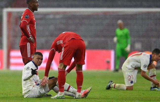 Pas avare d'efforts défensifs à Munich, Mbappé a terminé le match sur les rotules.
