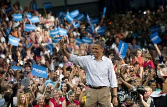 Barack Obama semble avoir profité dans l'opinion des effets de la convention de son parti démocrate la semaine dernière, selon plusieurs sondages publiés depuis la fin de ce rendez-vous, dont un lui accordant lundi six points d'avance sur son adversaire Mitt Romney.