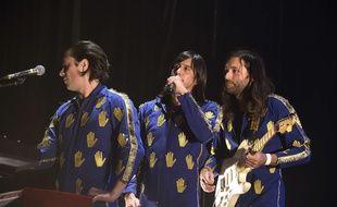 Les Naive New Beaters, ici en concert à l'Olympia le mois dernier.