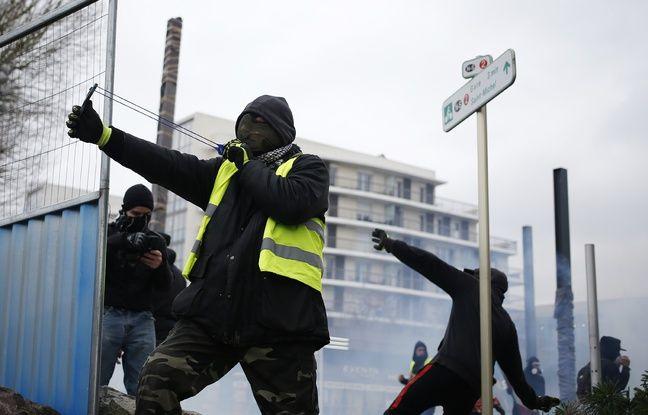 «Gilets jaunes» à Toulouse: Dix mois de prison ferme pour le manifestant à la fronde