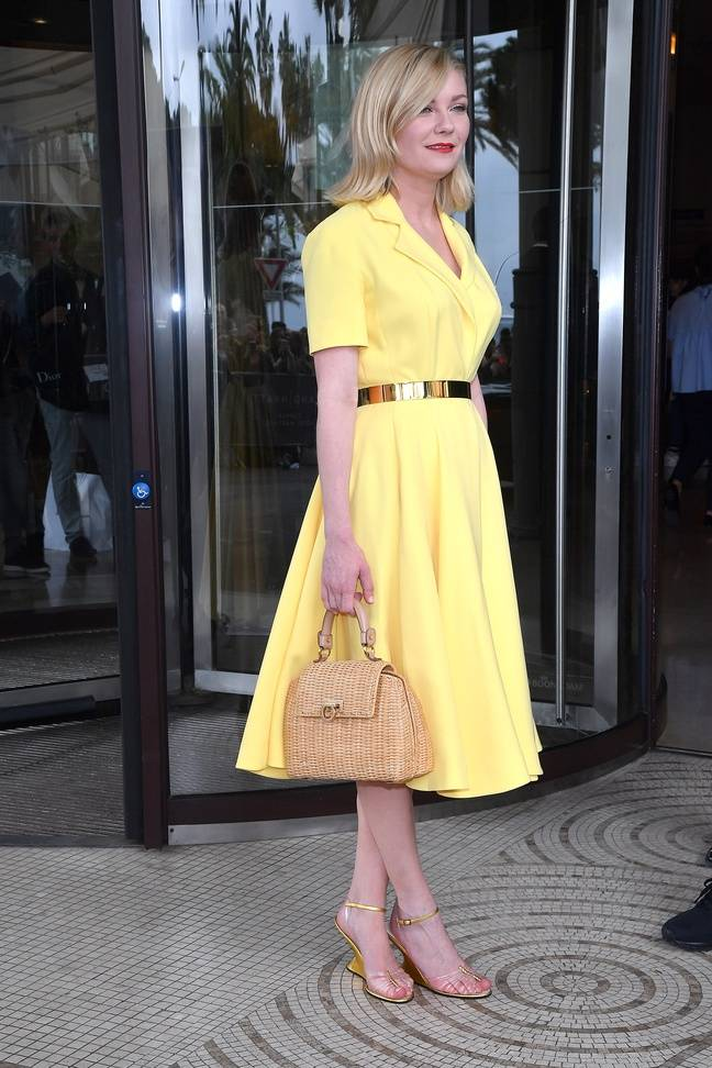 Kirsten Dunst le mercredi 18 mai à Cannes.