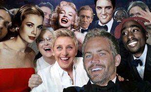 En 2020, Ellen DeGeneres pourrait s'entourer d'acteurs recréés virtuellement pour son selfie des oscars comme Grace Kelly, Marilyn Monroe, Tupac ou Paul Walker.