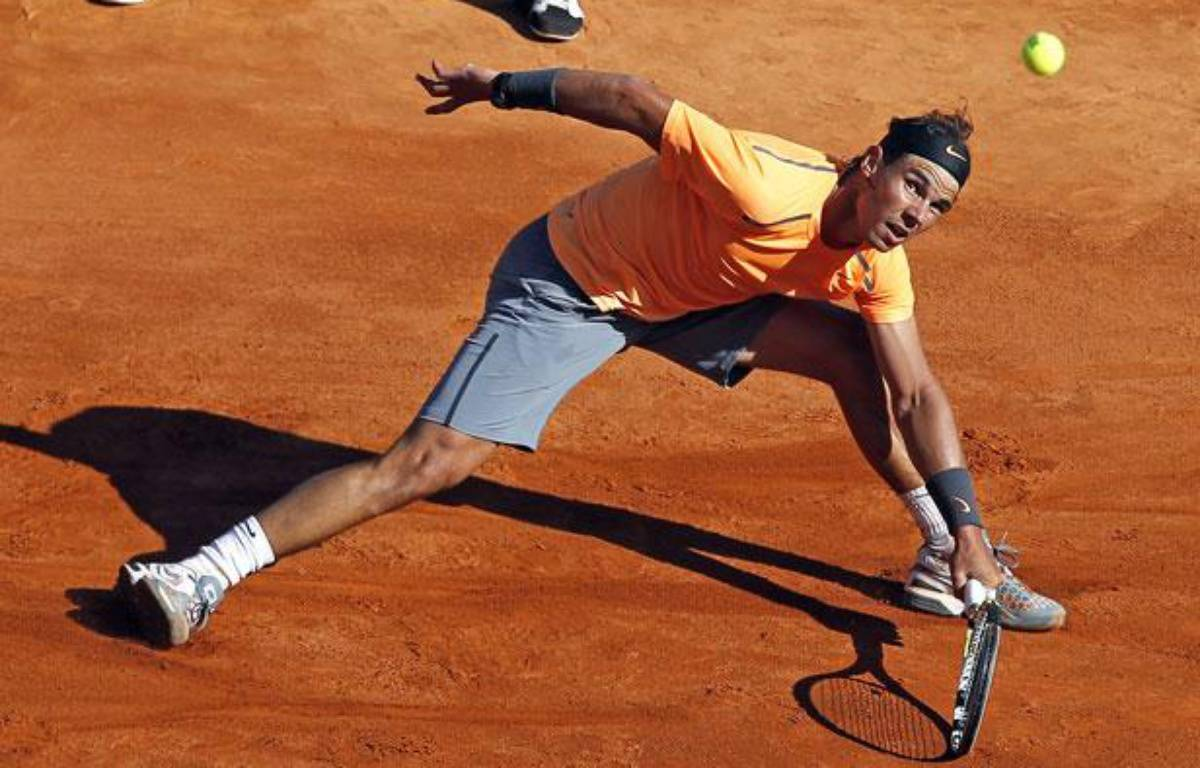 Rafael Nadal face à Stan Wawrinka, le 20 avril 2012 – E.GAILLARD/REUTERS