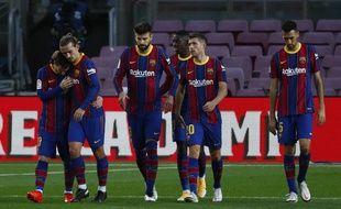 Les joueurs du Barça vont se faire taper sur les doigts.