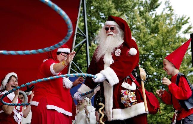 Le congrès annuel des Pères Noël s'étendra sur trois jours dans la ville de Copenhague au Danemark.