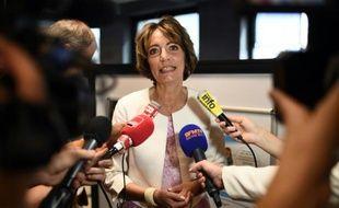 La ministre de la Santé, Marisol Touraine, le 29 juin 2015 à Créteil