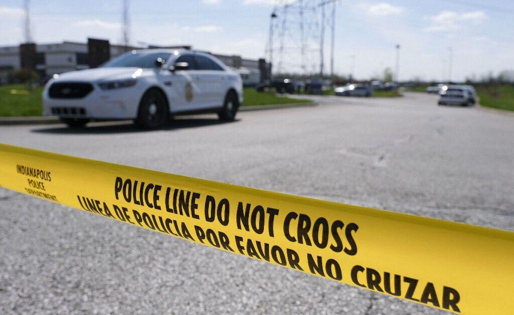 Un bandeau de police aux Etats-Unis. (illustration)