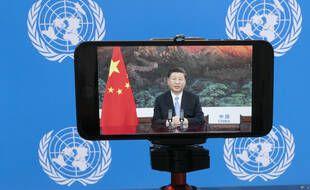 Xi Jinping s'est adressé à distance à l'Assemblée générale des Nations unies, le 22 septembre 2020.