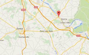 Vernon, dans l'Eure (Normandie).