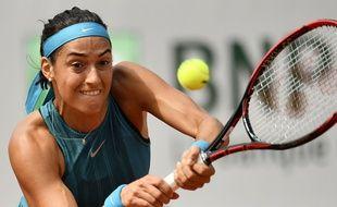 CAroline Garcia a été malmenée en huitième de finale