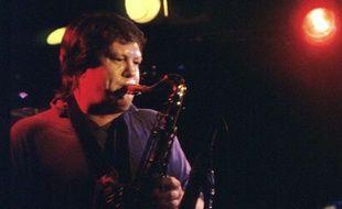 Bobby Keys, en 1987, à Austin, au Texas.