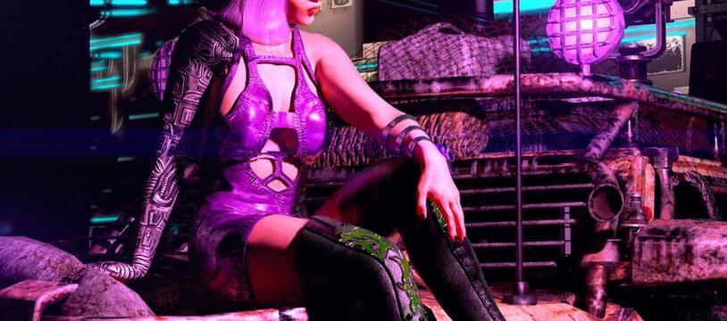 Exemple d'esthétique « Cyberpunk »
