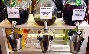 En France, plusieurs dizaines d'enseignes proposent désormais des fontaines à huile, vin et vinaigre.