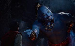"""«Salut, je suis le génie d'""""Aladdin"""", je vais hanter vos nuits... Bouh!»"""