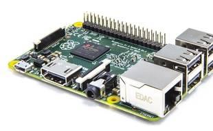 Le Raspberry Pi 2, dévoilé le 2 février 2015.