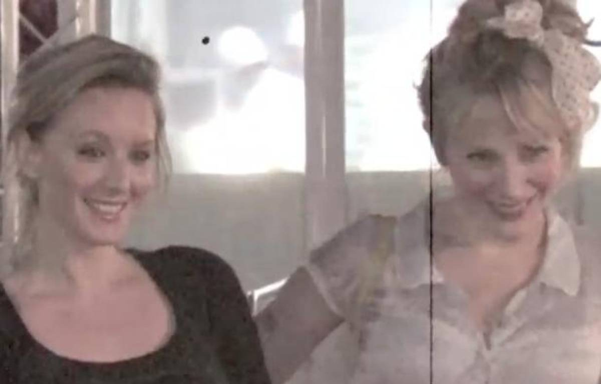Ludivine Sagnier et Julie Depardieu à Cannes, le samedi 26 mai 2012. – Stormshadow/20minutes