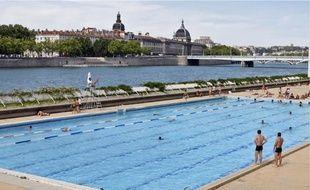Le grand bassin de la piscine du Rhône sera chauffé, afin de pouvoir ouvrir été comme hiver.