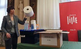 Des kits anti coronavirus pour les municipales.
