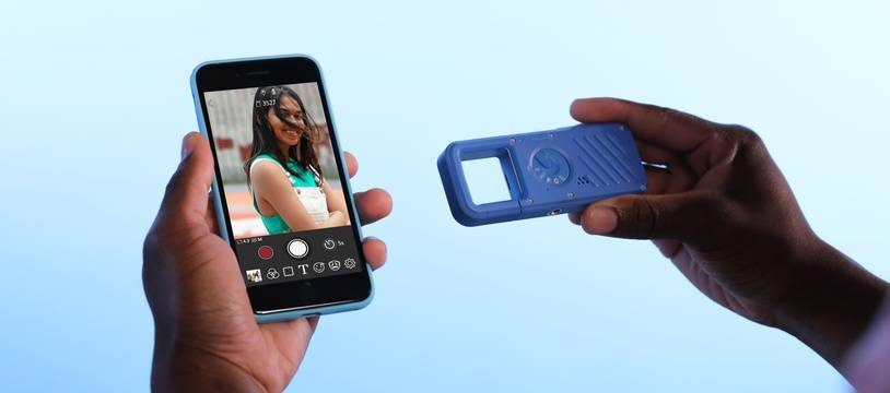 L'Ivy REC est un petit appareil photo baroudeur que l'on peut connecter à un smartphone.