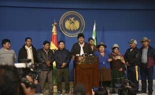 Le président Evo Morales a annoncé sa démission dimanche 10 novembre 2019, après trois semaines de contestations.