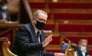Le président de l'Assemblée nationale, Richard Ferrand. .