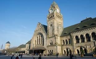 La gare de Metz élue la plus belle de France.(Archives)