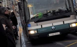 Bus illustration. Le 03 02 2010