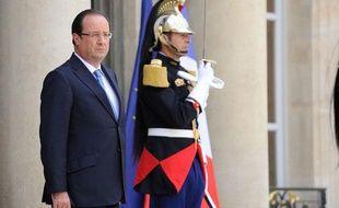 François Hollande à l'Elysée, le 17 juillet 2013.