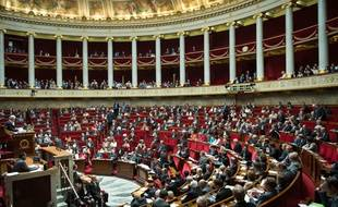 Assemblée nationale. (Illustration)